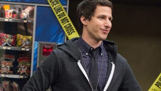 'Brooklyn Nine-Nine' co-creator on Holt's promotion, Jake and Amy's slow-burn romance & more