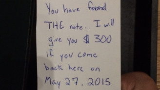 A Mysterious Note Potentially Worth $300 Took Over The Internet Yesterday