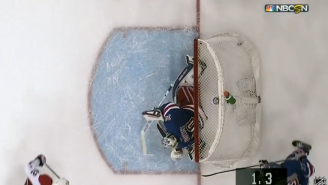 The Capitals Beat The Rangers On A Crazy Buzzer-Beater Goal To Take Game 1