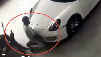 A Man In Thailand Was Caught On CCTV Having Sex With An Unsuspecting Porsche