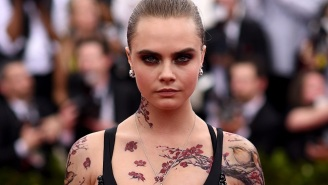 Cara Delevingne Doesn't Like Superhero Movies But Says 'Suicide Squad' Is 'F*cking Insane'