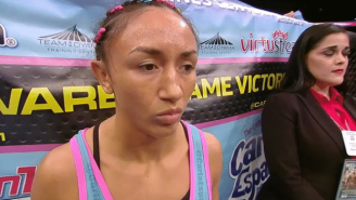 Former UFC Champ Carla Esparza Claims Jessica Aguilar Is On PEDs
