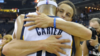 Past Meets Present: Steph Curry And Vince Carter Warmly Reminisce After Game 6