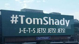 Jets Fans Are Trolling Tom Brady With 12 Billboards And The #TomShady Hashtag