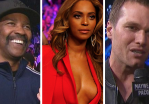 A Who's Who Of Famous Faces Showed Up To Watch Mayweather Vs. Pacquiao