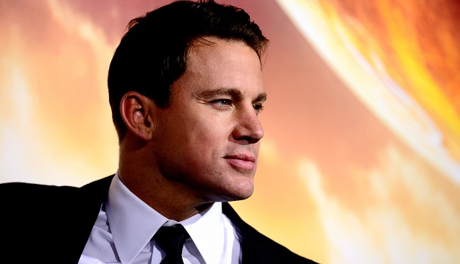 """Channing Tatum channing-tatum_Getty-cropped arrives at the Premiere of Warner Bros. Pictures' """"Jupiter Ascending"""" at TCL Chinese Theatre on February 2, 2015 in Hollywood, California."""