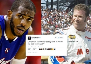 Chris Paul Used A Ricky Bobby Quote To Express His Pain After A Game 7 Loss
