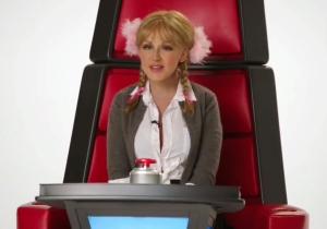 Christina Aguilera busts out impressions of Miley Cyrus, Cher, Britney, and more