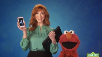 Christina Hendricks Is The Latest 'Mad Men' Star To Stop By 'Sesame Street'