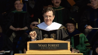 Stephen Colbert Compared Tumblr To The Vietnam War During His Commencement Speech