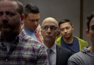 'Community' Parodied The Elevator Fight Scene From 'Captain America: The Winter Soldier' And It Was Super Fun