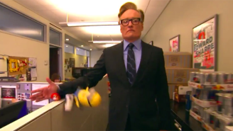 Conan Decides To Give His Staff A Very Important Performance Review In His Latest Remote