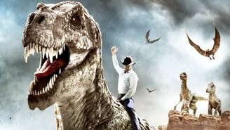 Watch The Hilariously Corny Trailer For 'Cowboys Vs. Dinosaurs'