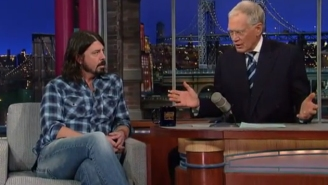 Foo Fighters And David Letterman Have Had A Bromance Going For A Long Time Now