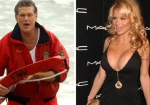 Pam Anderson Shares A Most Bizarre David Hasselhoff Story From Their 'Baywatch' Days
