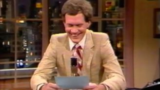 Todd Barry's 1982 Letterman debut? Is stunning.