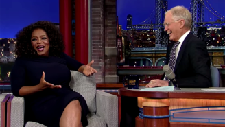 David Letterman Told Oprah He Is Taking One Item From His CBS Office When He Leaves 'The Late Show'