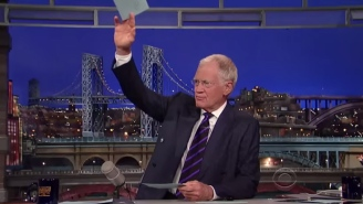 A Special Part Of Letterman's Old Set Survived To Live On Another Show