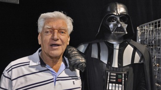 Original Darth Vader Actor David Prowse Is Bummed He Isn't Part Of 'Rogue One'