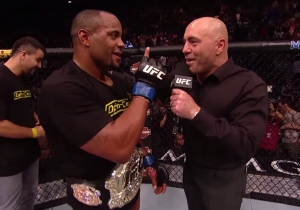 UFC's Daniel Cormier Thinks Brock Lesnar's Victory Should Put Him In The Mix For The WWE Championship