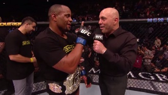 Watch UFC Light Heavyweight Champion Daniel Cormier Lose His Mind At WrestleMania