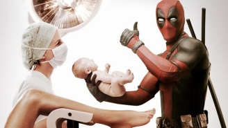 'Deadpool' Is Looking Forward To Fatherhood In His Super Bowl Commercial