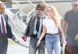 Johnny Depp's Dogs Are Fleeing Australia On A Special Flight To Avoid Execution