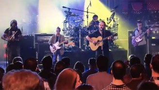 Listen To A New Dave Matthews Band Song Debuted In Honor Of David Letterman