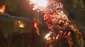 Here's A Brief (Very, Very Brief) Look At The New 'Doom'