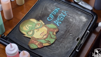 Save Your Breakfast With These Heroic 'Avengers' Pancakes