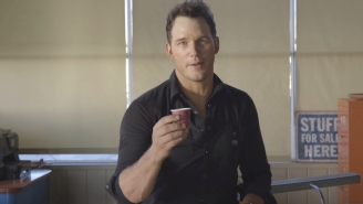 Watch Chris Pratt Try To Give Acting Lessons While Drunk On Whisky