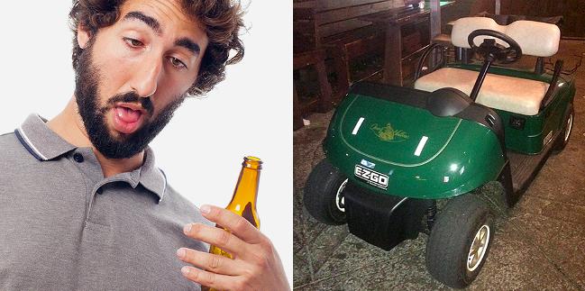 drunk dude cart
