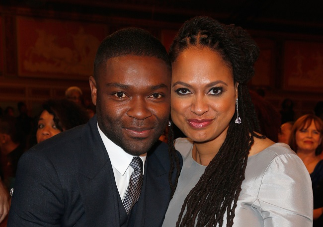 PASADENA, CA - FEBRUARY 06:  Actor David Oyelowo (L) and Director Ava DuVernay attend the 46th NAACP Image Awards presented by TV One at Pasadena Civic Auditorium on February 6, 2015 in Pasadena, California.  (Photo by Joe Scarnici/Getty Images for NAACP Image Awards)