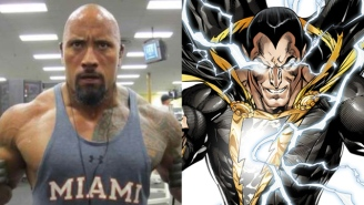 The Rock Says 'Shazam' Is Coming Sooner Than Expected