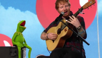 Watch Kermit The Frog Harmonize 'Rainbow Connection' With Ed Sheeran