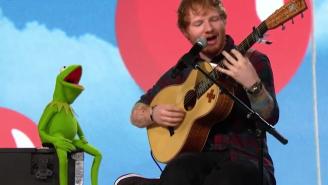 Watch Kermit The Frog Harmonize 'Rainbow Connection' With Ed Sheeran