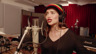 Emilia Clarke Goes Rasta In The Full Version Of 'Game Of Thrones' The Musical From Red Nose Day