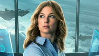 Looks Like Emily VanCamp Is Back As Agent 13 In 'Captain America: Civil War'