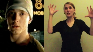 This Woman Performing Eminem's 'Lose Yourself' In Sign Language Makes A Great Song Even Greater