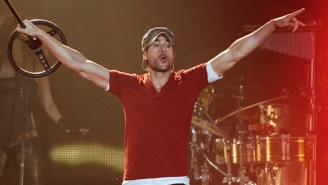Enrique Iglesias Tried To Grab A Drone During One Of His Concerts And It Did Not Go Well
