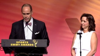Watch Ernie Johnson's Emotional Acceptance Speech At The Sports Emmy Awards