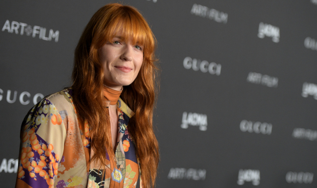 attends the 2014 LACMA Art + Film Gala honoring Barbara Kruger and Quentin Tarantino presented by Gucci at LACMA on November 1, 2014 in Los Angeles, California.