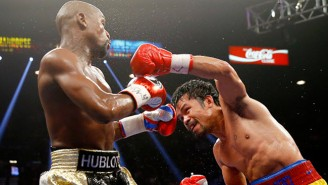 Floyd Mayweather Reportedly Wants To Give Manny Pacquiao A Rematch