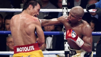 Manny Pacquiao Remains The Only Person In The World Who Thinks He Beat Floyd Mayweather