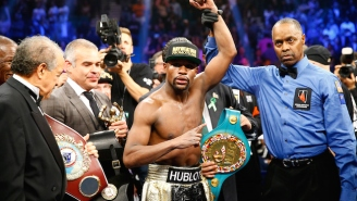'Losers Have Excuses': Floyd Mayweather Takes A Not-So-Subtle Shot At Manny Pacquiao