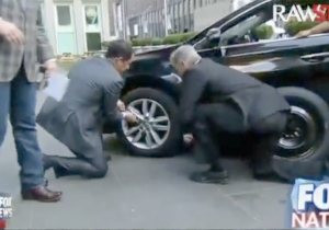 It's A Sad State Of Affairs When Two 'Fox & Friends' Hosts Attempt To Change A Tire