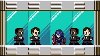 Hydra Score: 'Captain America: The Winter Soldier' Gets The 8-Bit Video Game Treatment