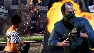 Sure, Why Not? 'GTA V' Modders Have Created A Gun That Shoots Cars Instead Of Bullets.