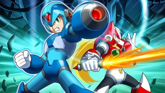 Watch This Insane Gamer Beat Two 'Mega Man' Games Simultaneously With A Single Controller