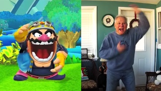 This Dad Reenacting The Taunts From 'Super Smash Bros.' Is Equally Charming And Cringeworthy